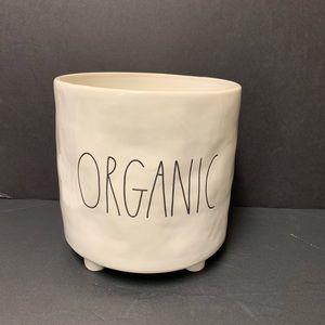 Rae Dunn brand new ORGANIC planter